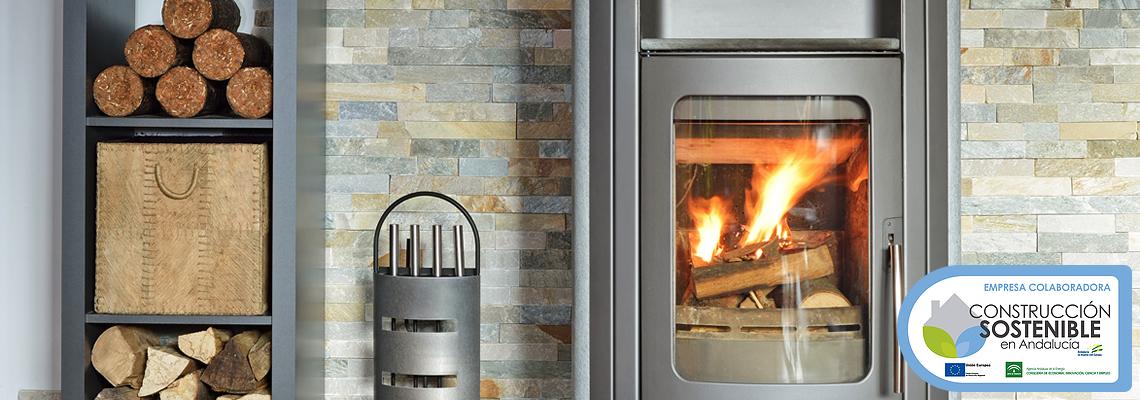 Venta e instalaci n de chimeneas y estufas en sevilla for Instalacion de chimeneas
